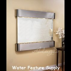 1000 images about the teton falls wall mounted water - Water fountain in bedroom ...