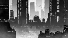 Grayscale City by kvacm