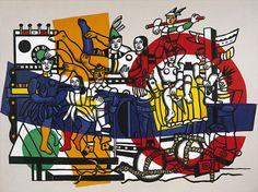 Fernand Léger. The Great Parade (definitive state) (La grande parade [état définitif]). 1954 - Guggenheim Museum