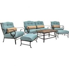 6-Piece Addison Patio Seating Group