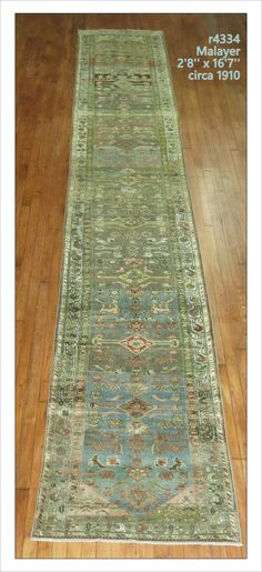 "Malayer  Rug Number: r4334 Size: 2'8"" x 16'7""   Rugs R Us Online,"