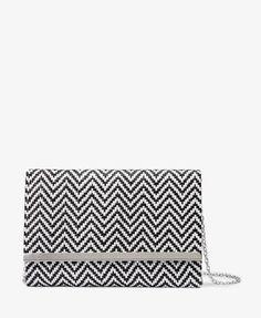 Zigzag Raffia Clutch   FOREVER21 - 1047292801