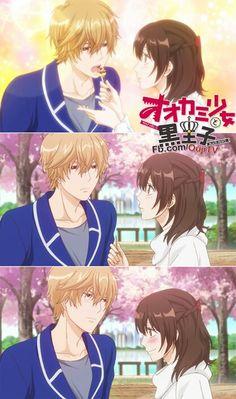 Kyouya and Erika ♡ Ookami shoujo to kuro ouji
