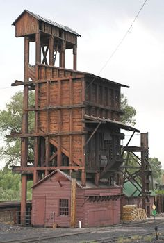 ho scale coaling tower plans   the set of plans from colong are the general plans