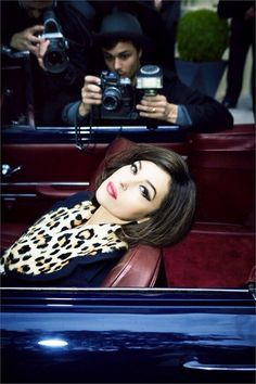 Monica Bellucci....love the hair