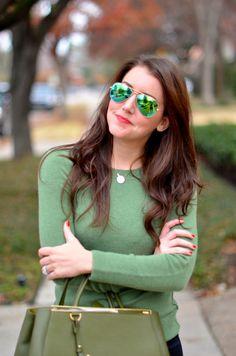 Green Sweater   Dallas Wardrobe
