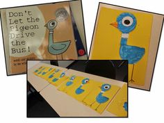 Art and Children's Literature- Don't Let Pigeon Drive the Bus