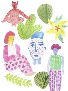 Illustrations by Fran Feuer