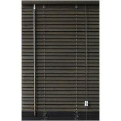 Store vénitien bois, wengé, l.70 x H.130 cm