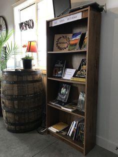 Authors book shelf
