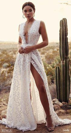 Lurelly bohemian wedding dress magnolia #weddings #dresses #weddingdresses #weddingideas #weddinginspiration