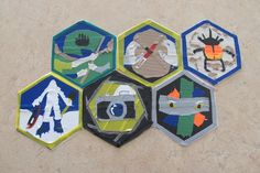 Duct Tape skill patches - age 11