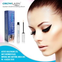 Growlash is registered trade mark of the Astute Healthcare Ltd, UK. The Natural way to get fantastically beautiful eyelashes.