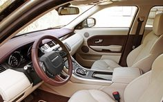 Land Rover Evoque Interior 2013