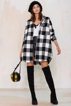 Camp Out Flannel Jacket | Shop Clothes at Nasty Gal!