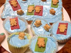 Recipe: Beach Bear Cupcakes | Duncan Hines Canada®