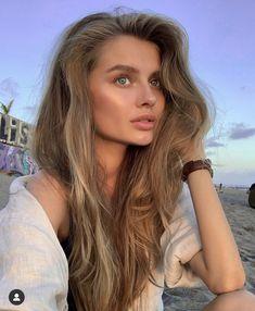 Dark Blonde Hair Color, Honey Blonde Hair, Short Blonde, Ash Blonde, Beautiful Long Hair, Pretty Hairstyles, New Hair, Hair Inspiration, Facial