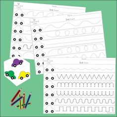 These handwriting games are designed for little fingers to encourage fine motor development. A set of three games is included in the pack. by dorthy Kindergarten Writing, Teaching Writing, Preschool Learning, Fun Learning, Kindergarten Classroom, Early Learning, Literacy, Education Positive, Kids Education