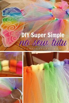 Why pay a fortune for a tutu skirt when you can totally make one and rock it yourself? Check out this simple yet gorgeous way to make your own no sew tutu!
