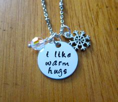 """Party favors or gift idea. Disney's Frozen Inspired Elsa's friend Olaf """"I like warm hugs"""" by WithLoveFromOC, $20.00"""