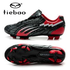 31.15$  Watch now  - TIEBAO Football Shoes Boots FG & HG Soles Soccer Boot Football Boots Outdoor Football Shoes Training Sneakers For Adult EU 38-44