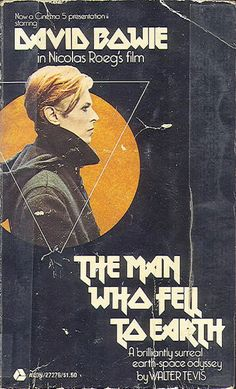 The Man Who Fell to Earth poster. #DavidBowie