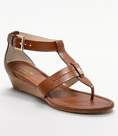 Coach Wedge Sandals   visit dillards com