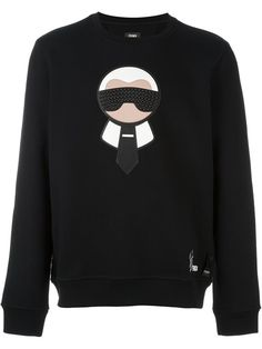 FENDI 'Karlito' Sweatshirt. #fendi #cloth #sweatshirt