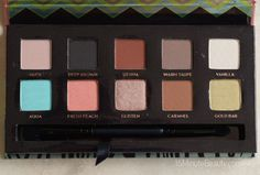 Makeup Wars: Anastasia's Maya Mia Palette Review, Swatches and Look via @15 Minute Beauty