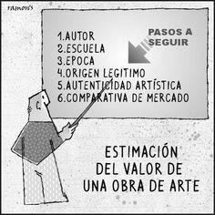 Reflexiones sobre arte: Estimacion del valor de una obra de arte.