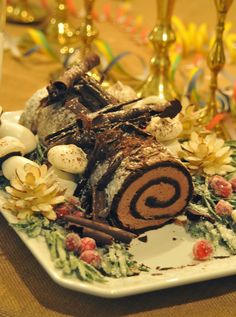 NINE + SIXTEEN: Recipe for Buche de Noel