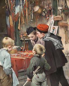 Henry Jules Jean Geoffroy (French: 1853-1924)