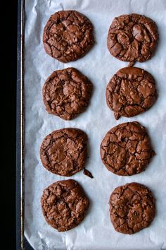 Perfectly Fudgy Ginger Chili Double Chocolate Cookies ° eat in my kitchen