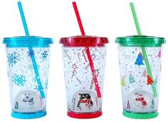 Cool Gear Snow Globe Tumbler