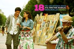 Here comes the official announcement about Dilwale release date. Film releasing on 18th Dec.