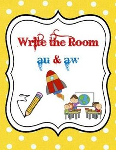 Write the Room - au & aw