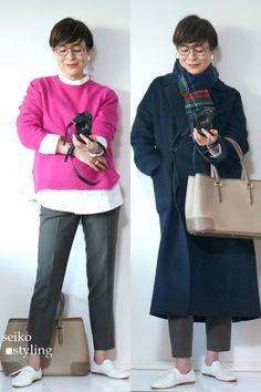 50代 大人の女性のスニーカーコーデ | 服を変えれば、生き方が輝く!私がはじまるファッションコーデ 50 Fashion, Petite Fashion, Autumn Fashion, Womens Fashion, Lace Design, Fabric Design, Japanese Outfits, Pants Outfit, Simple Outfits