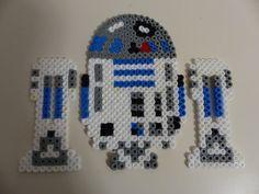 Bazooka Crafts: Star Wars melting perler/hama beads Decoration ~ R2D2, Jabba & more