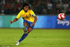 Former Brazil international Ronaldinho is now working as an ambassador for Barcelona