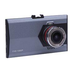 Ultra Thin Car DVR 3.0 inch Full HD 1080P Car DVR Camera Video Camera Recorder 140 Degree Wide Angle Night Vision dvr