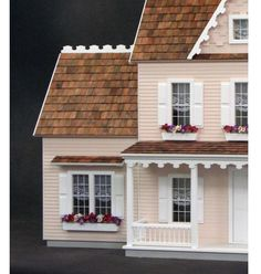 This is an UNFINISHED DOLLHOUSE KIT that includes all the supplies needed to build a colonial junior addition for your Vermont Farmhouse Junior Dollhouse! The Colonial Junior Addition dollhouse kit can be built to fit either the right or left side of your dollhouse... the choice is yours. Expand your Vermont Farmhouse Jr. dollhouse today with this addition kit.  Scale: 1 in. = 1 ft. Access: Open Back Rooms: 2 Expandable: No House Style: Colonial Dimensions: 12W x 12D x 21H (dimensions listed…