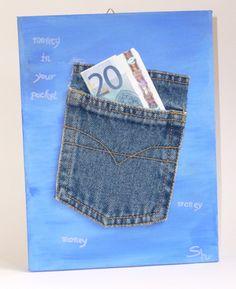 Money in your pocket - Geldgeschenk Geld schenken, Geld verpacken, Geschenkidee, von Susannes Kreativ-Lädchen auf DaWanda.com