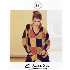 6babddf97bdc4 H70 Ladies Sweater jumper pattern DK knitting patterns Double Knitting  Patterns
