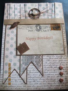 DH's Birthday card - Scrapbook.com