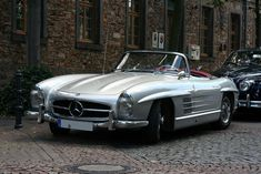 Mercedes-Benz 300 SL Roadster #mercedesclassiccars