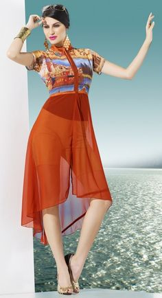 indian tail cut kurti styles for girls