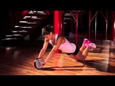 ▶ Learn Ab Wheel Workouts with a Professional Fitness Trainer - YouTube