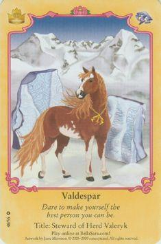 Valdespar. Herd: Valeryk Title: Steward of Herd Valeryk