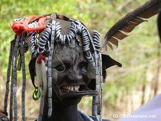 Mago National Park Ethiopia - mursi elderly woman - GLOBOsapiens