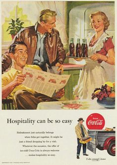 Coca Cola 1953